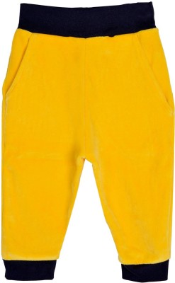 Lil Orchids Track Pant For Girls(Yellow) at flipkart