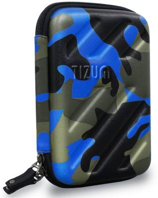 TIZUM Universal Electronic Travel Organizer/ Gadget Organizer for Small Electronic   Accessories Blue  TIZUM Travel Organizers