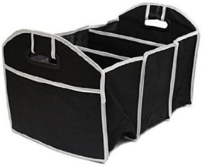 Italish Easy Collapsible Portable car Trunk Storage Black