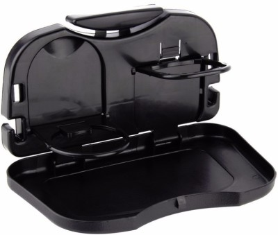 Indianmarina Foldable Car Travel Dining Tray Black