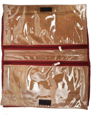 Srajanaa Golden Travel Inner Wear Organiser / Travelling Accessories SR 115 Multicolor Srajanaa Garment Covers