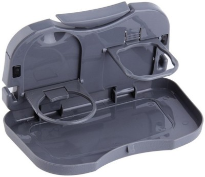 Shadow Fax Foldable Car Dining Meal Drink Tray 1pc Travel Toiletry Kit Grey Shadow Fax Travel Toiletry Kits