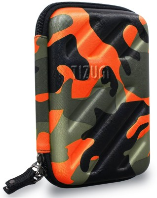 TIZUM Universal Electronic Travel Organizer/ Gadget Organizer for Small Electronic   Accessories Orange TIZUM Travel Organizers