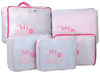 30% OFF on Magnusdeal 5 in 1 Sets Travel Bags in Bag Organizer(Grey) on Flipkart | PaisaWapas.com