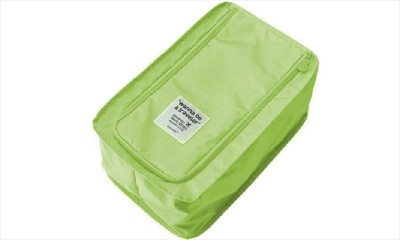 Ruby Shoe Pouch Green Ruby Travel Pouches