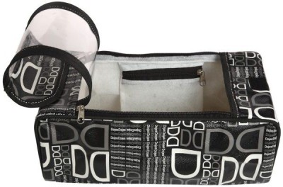 Kuber Industries Shoe Pouch Black