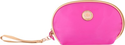 Priya Exports Cosmetic Pouch Pink