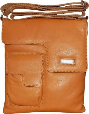 Kan Sling Bag(Tan) at flipkart