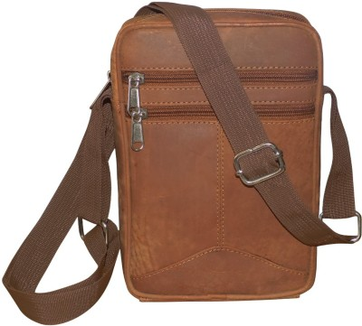 b562a5e2d419 31% OFF on Kan Tan Hunter Leather Small Travel Bag For Men and Women Small  Travel Bag - Small(Tan) on Flipkart