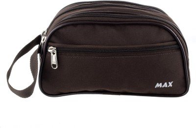 PSH max Travel Shaving Bag Brown