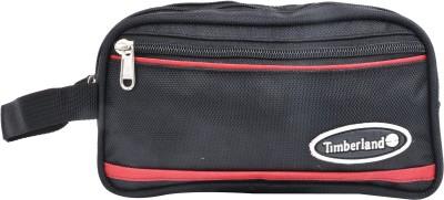 PSH two fold with pocket Travel Shaving Bag Black