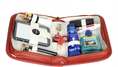 Toprun Thunder Jordan Travel Shaving Kit   Bag   Brown  Toprun Thunder Travel Shaving Kits