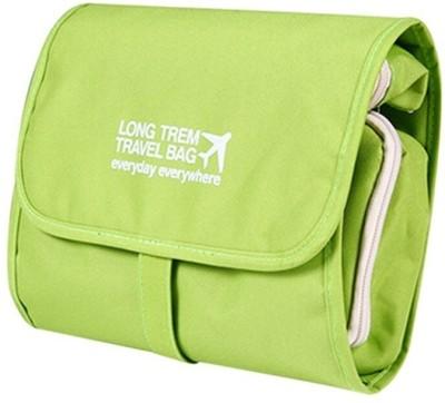 Swadec Folding Bag  Green  Travel Toiletry Kit Green