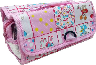 Fashionista NM150_Pink1 Travel Toiletry Kit Multicolor