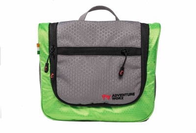 Adventure Worx Go X Reg Travel Toiletry Kit Green, Grey Adventure Worx Travel Toiletry Kits