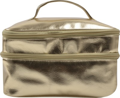 Carry on Bags Golden Utility case Travel Toiletry Kit Gold