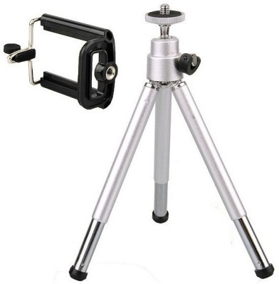 Mobilegear Mini 7 Inch Height Metal Silver, Supports Up to 400 g
