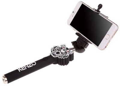 JoJo Kenzo11 Selfie Stick(Black, Supports Up to 500 g)