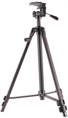 Power Smart WT-330A Portable Stand Kit for Professional Digital SLR Camera Tripod(Grey, Supports Up to 3000 g)