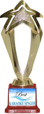 Box 18 83 WORLDS BEST KARAOKE SINGER Trophy(M)  available at flipkart for Rs.499