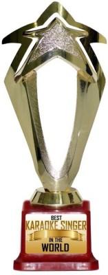 Box 18 BEST KARAOKE SINGER IN THE WOLRD 839 Trophy(M)  available at flipkart for Rs.499
