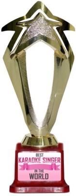 Box 18 BEST KARAOKE SINGER IN THE WOLRD 746 Trophy(M)  available at flipkart for Rs.499