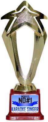 Box 18 WORLDS NO#1 KARAOKE SINGER 522 Trophy(M)  available at flipkart for Rs.499