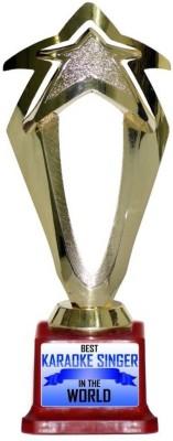 Box 18 BEST KARAOKE SINGER IN THE WOLRD 651 Trophy(M)  available at flipkart for Rs.499