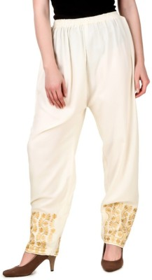 Rdesign Regular Fit Women's White Trousers