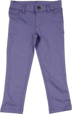 Carter's Girls Purple Trousers at flipkart