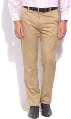U.S. Polo Assn Slim Fit Men's Beige Trousers