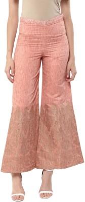 Abhishti Regular Fit Women Orange Trousers at flipkart