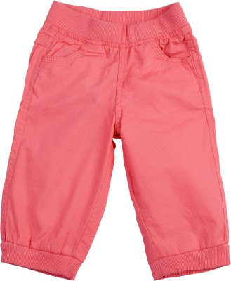 Addyvero Regular Fit Baby Girls Pink Trousers
