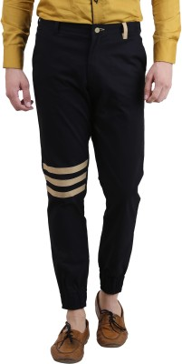 Skoosh Slim Fit Men's Black Trousers