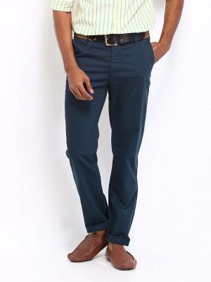 U.S. Polo Assn Slim Fit Men's Blue Trousers