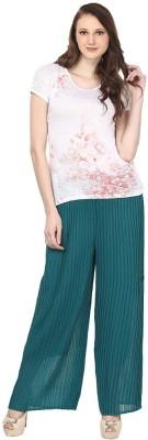 Skyline Trading Regular Fit Women Green Trousers at flipkart