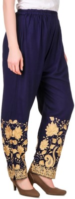Rdesign Regular Fit Women's Multicolor Trousers
