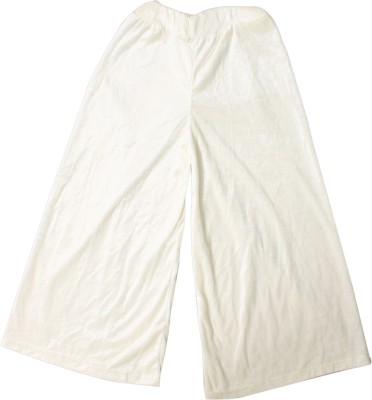 A A Store Regular Fit Girls White Trousers