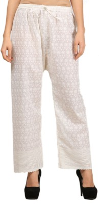 Glorious Regular Fit Women White Trousers