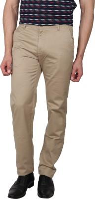 Arrow Sport Slim Fit Men Green Trousers at flipkart