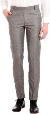 AD & AV Regular Fit Men's Grey Trousers at flipkart