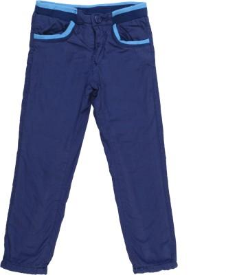 Addyvero Slim Fit Girls Blue Trousers