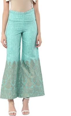Abhishti Regular Fit Women Light Green Trousers at flipkart