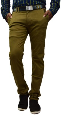 British Terminal Slim Fit Mens Green Trousers