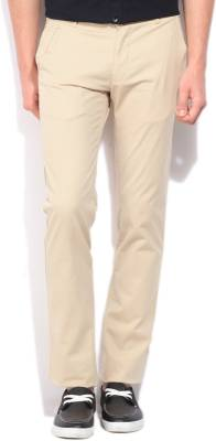 United Colors of Benetton Slim Fit Men's Beige Trousers