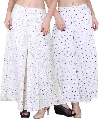 Kannan Regular Fit Women Multicolor Trousers Kannan Palazzos