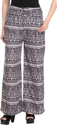 AV Fashions Regular Fit Women's White Trousers