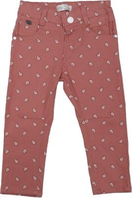 Addyvero Slim Fit Girls Orange Trousers