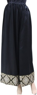 Matelco Regular Fit Women's Black Trousers