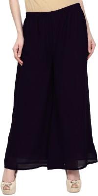 Skyline Trading Regular Fit Women Black Trousers at flipkart